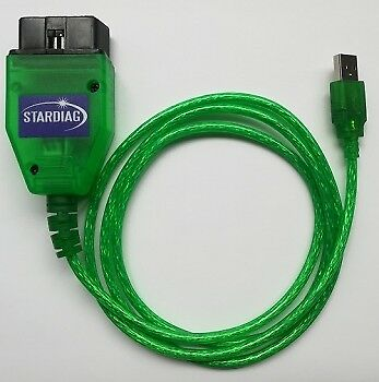Stardiag K609 KKL Interface Diagnose Fehler Software USB Scanner OBD OBD2 PKW