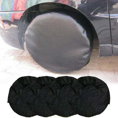 "4x/set 29"" Inch Wheel Tire Cover Waterproof for Car RV Truck Camper Trailer"