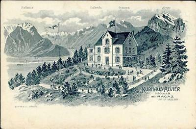 55199309 - Bad Ragaz Pension Alvier 1907