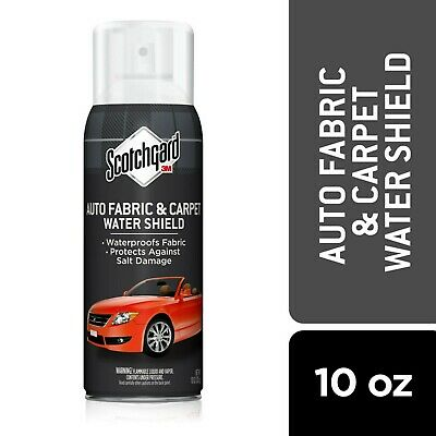 3M 4104D Scotchgard Auto Fabric & Carpet Protector, Made in USA, 10 Once