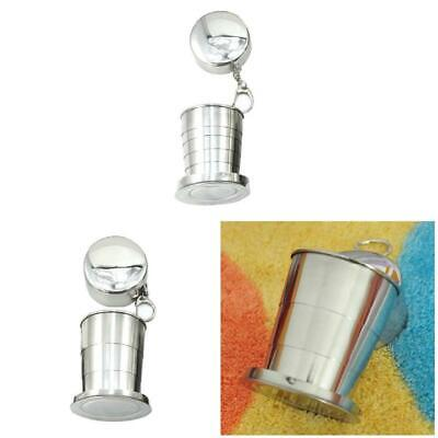 Stainless Steel Portable Outdoor Travel Folding Collapsible Cup Telescopic Tool