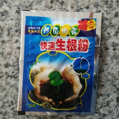 2 bags Rapid rooting powder,rooting agent,suitable for fruit tree cutting flower