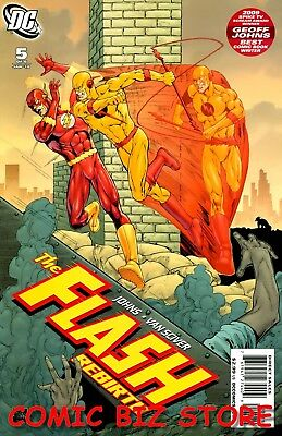 The Flash: Rebirth #5 (2010) 1St Printing Bagged & Boarded Dc