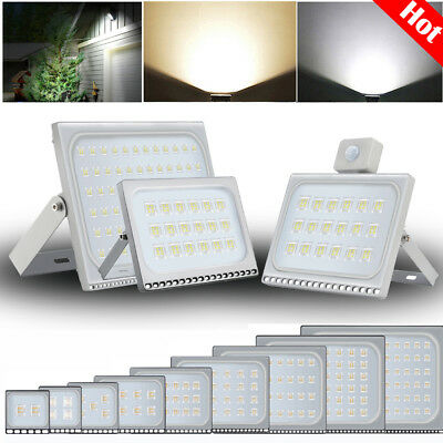PIR Sensor LED Floodlight 10W 20W 30W 50W 100W 300W 500W Outdoor Security Lights