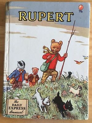 RUPERT ORIGINAL ANNUAL 1955 Inscribed Price Clipped G/VG