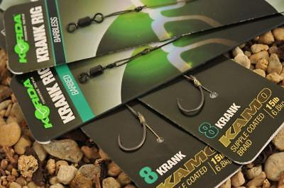Korda Ready Tied Rigs FROM ONLY £1.99 POST FREE