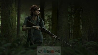Poster 42x24 cm Videogame Videojuego The Last Of Us Part 2 01