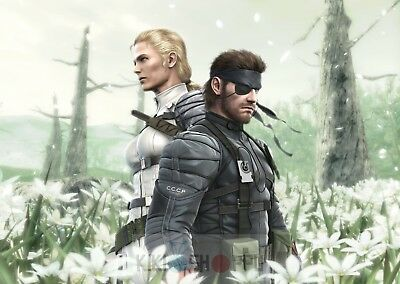 Poster A3 Metal Gear Solid 3 Snake Eater Videojuego Videogame Cartel Decor 01
