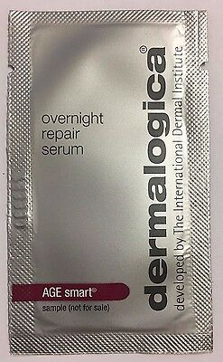 Dermalogica AGE Smart Overnight Repair Serum Sample Sachets x 8
