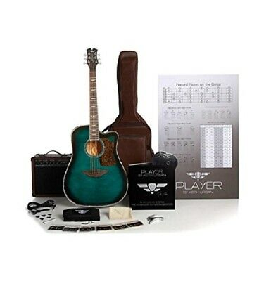 Keith Urban 50-piece Deluxe PLAYER Acoustic-Electric Guitar, Jade