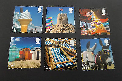 GB MNH STAMP SET 2007 Beside the Seaside SG 2734-2739 UMM