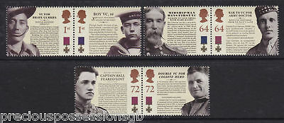 Gb Mnh Stamp Set 2006 Victoria Cross Sg 2659-2664 Umm