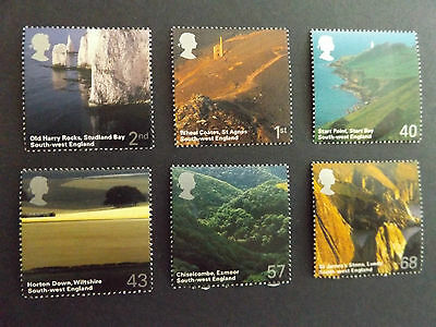 GB MNH STAMP SET 2005 British Journey-South West SG 2512-2517 UMM