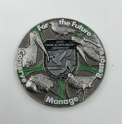 Fish and Wildlife FWL Challenge Coin