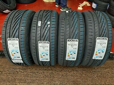 225 40 18 92Y XL UNIROYAL RAINSPORT 3 ( A ) RATED WET GRIP QUALITY TYRES! x1,2,4