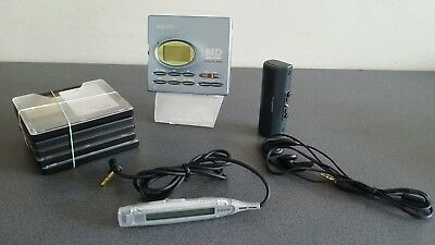 Sony Mz-R91 Minidisc Recorder Player Walkman Mini Disc Walkman