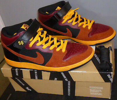 low priced 115e5 9c258 Nike Dunk Mid Pro SB OSTRICH Team Red Rugged Laser Orange (314383-680)