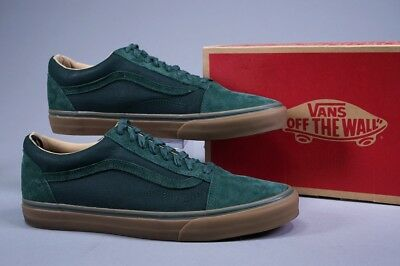 d8f70f45d33a0f Vans Old Skool Reissue Coated Green Gables Skate Shoes ~ Us Mens 12 ~ L