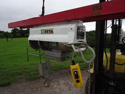 BETA Gantry Scaffold Hoist Lift Winch 110v 600kg
