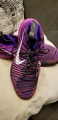 ed5be2345563 Nike Free Train Force Flyknit Men s Athletic Shoes Size 12 Style 833275-451