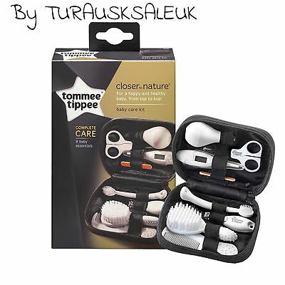 Tommee Tippee Closer To Nature Healthcare Kit For Baby Grooming Comb Set Of 9pc