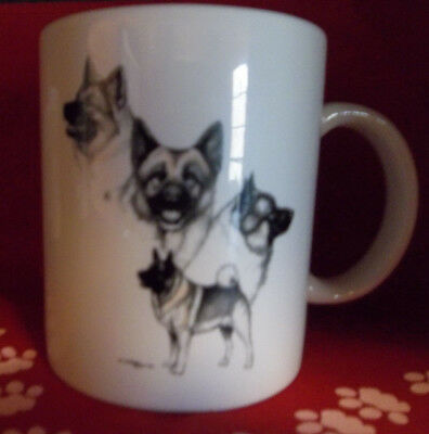 Norwegian Elkhound Coffee Mug  New