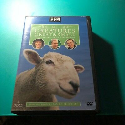 All Creatures Great and Small - Complete Series 6 Collection (DVD, 2006, 4-Disc…