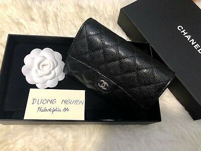 31831aab8051 Chanel Classic Clutch with Chain with Black Iridescent Caviar and SHW