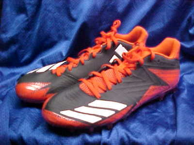 9a8f43305816 Adidas SM Freak X Carbon Low Molded Football Cleats Black/Orange CG4978  Size 12