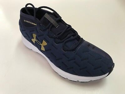 promo code 6c6dd 06b6e UNDER ARMOUR CHARGED REACTOR RUN Mens Running Shoes Blue SIZE 10 D(M)