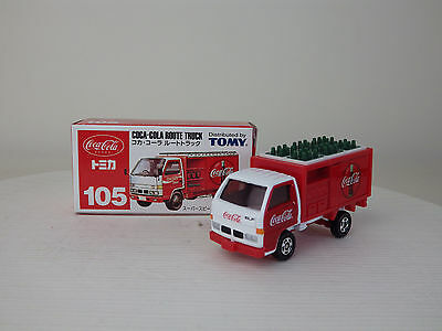 ISUZU ELF COCA-COLA ROUTE TRUCK  White / Red  TOMY NEW