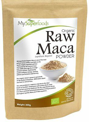 Organic Raw Maca Powder Packed with Healthy Nutrients Delicious Malty Flavour