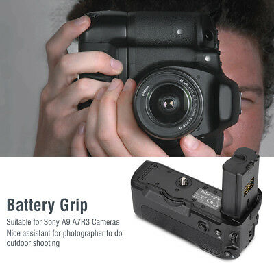 Mcoplus VG-C3EM Portable Camera Vertical Battery Grip for Sony A9 A7R3 Cameras