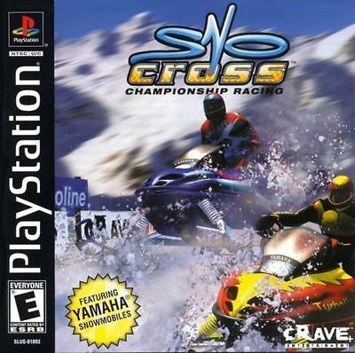 SONY PlayStation PS1 PSOne Sno-Cross Championship Racing (COMPLETE)