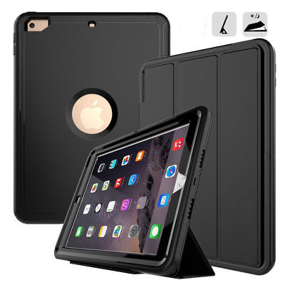 """For Apple iPad 6th Gen (2018) 9.7"""" inch Shockproof Heavy Duty protect case Cover"""