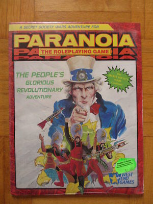 Paranoia The People´s Glorious Revolutionary Adventure NEU New SEALED English St