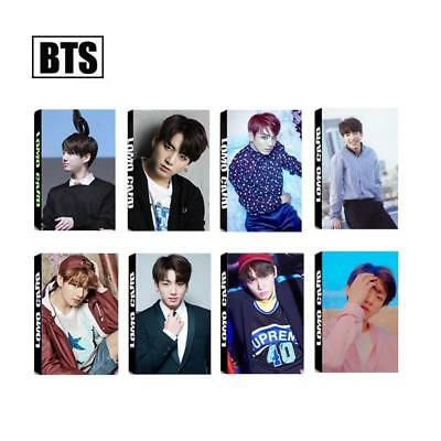 Kpop BTS Jungkook Personal Lomo Photo Card Love Yourself Photocards Poster 30pcs