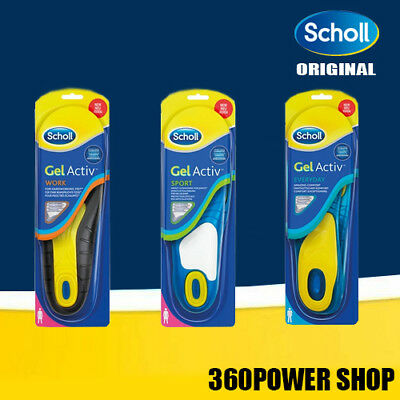 Scholl GEL ACTIVE Solette modello WORK - SPORT - EVERYDAY per uomo e donna