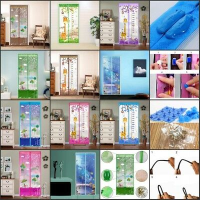 Anti-Insect Mosquito Fly Bug Door Window Curtain Net Mesh Protector Screen Home