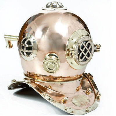 Big Brass Solid Taucher Tauchhelm U S Navy DEKORATIVES GESCHENK