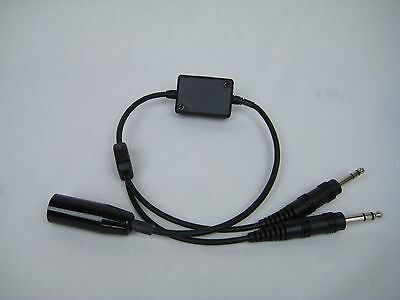 Military Headset Impedance Adapter Converts Military to GA  PA-88