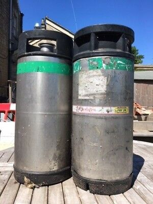 Beer kegs - used and empty x 2