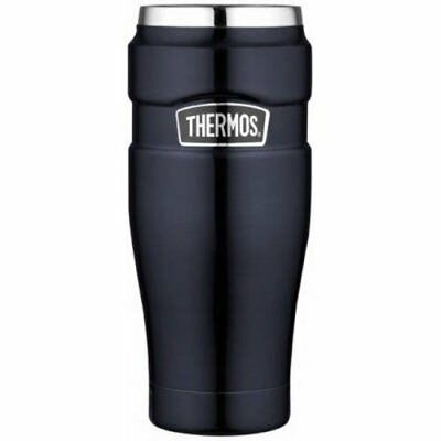 Thermos Stainless King 16-Ounce Travel Tumbler Midnight Blue