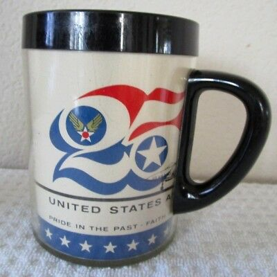 United States Air Force 25th Anniversary Thermal Coffee Cup
