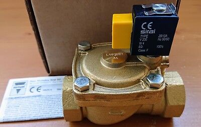 """Sirai L182D01 Solenoid Valve with 1"""" Connections"""