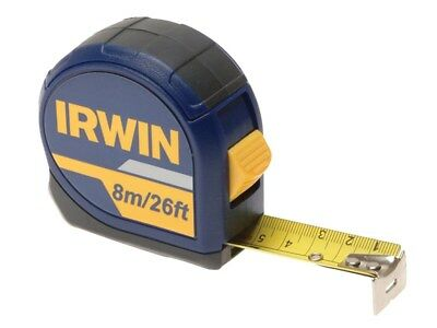 Irwin IRW10507789 Pack of 3 Professional Pocket Tape Measures 8m / 26ft Carded