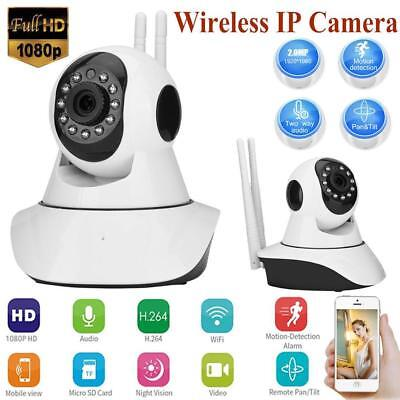 Wireless WiFi HD 960P/1080P IP Camera CCTV Home Security Monitor IR Night Vision