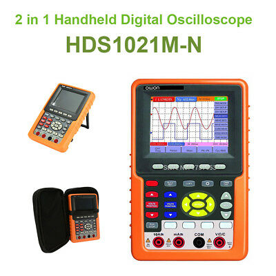2 in 1 Handheld DSO OWON HDS-N Digital Oscilloscope Auto-Scale FFT Circuit Test