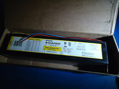 New Advance Rc-2S102-Tp Rapid Start Ballast 120V-Ac (2)F48T12/vho