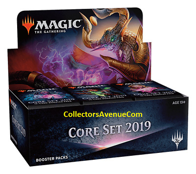 2019 Core Set - Booster Box MTG MAGIC - SEALED English - CollectorsAvenueCom